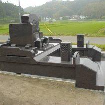 オリジナルデザイン墓所 左