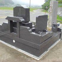オリジナルデザイン墓所 左後